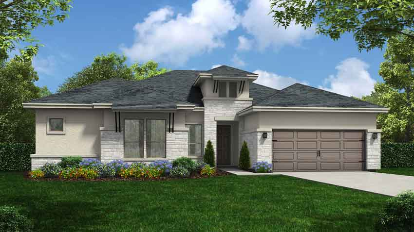 Novak Custom Homes Abington Floorplan