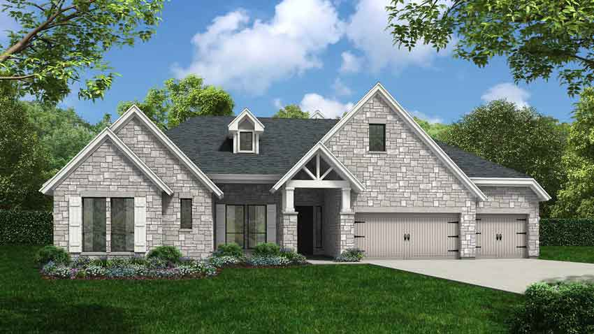 Novak Custom Homes Ashbury Floorplan