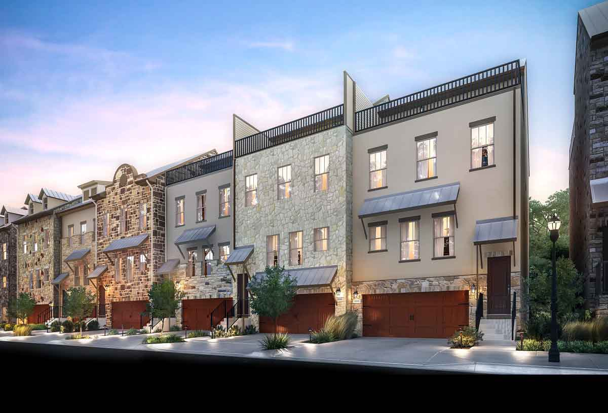 The Brownstone at the Summit West Luxury Townhomes at The Summit at Rivery Park
