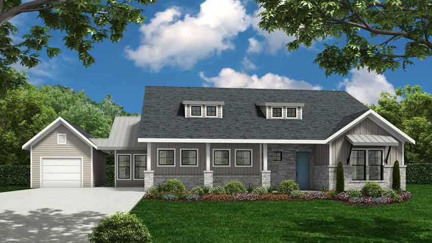 Novak Custom Homes Willow Floorplan