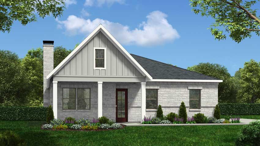 Novak Custom Homes Laurel Floorplan