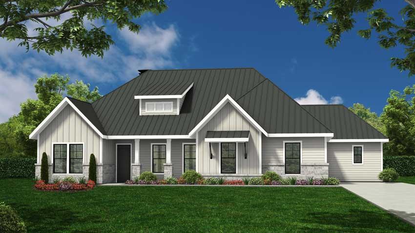 Novak Custom Homes Meadow Floorplan